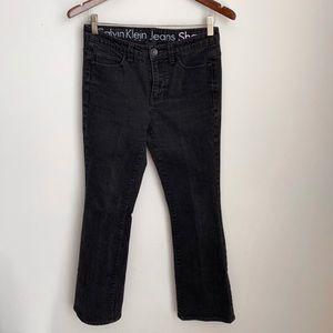Dark grey Calvin Klein jeans size 28